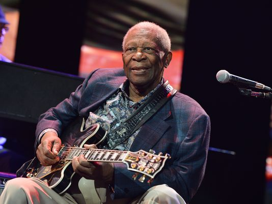 Death of legendary blues musician B.B. King